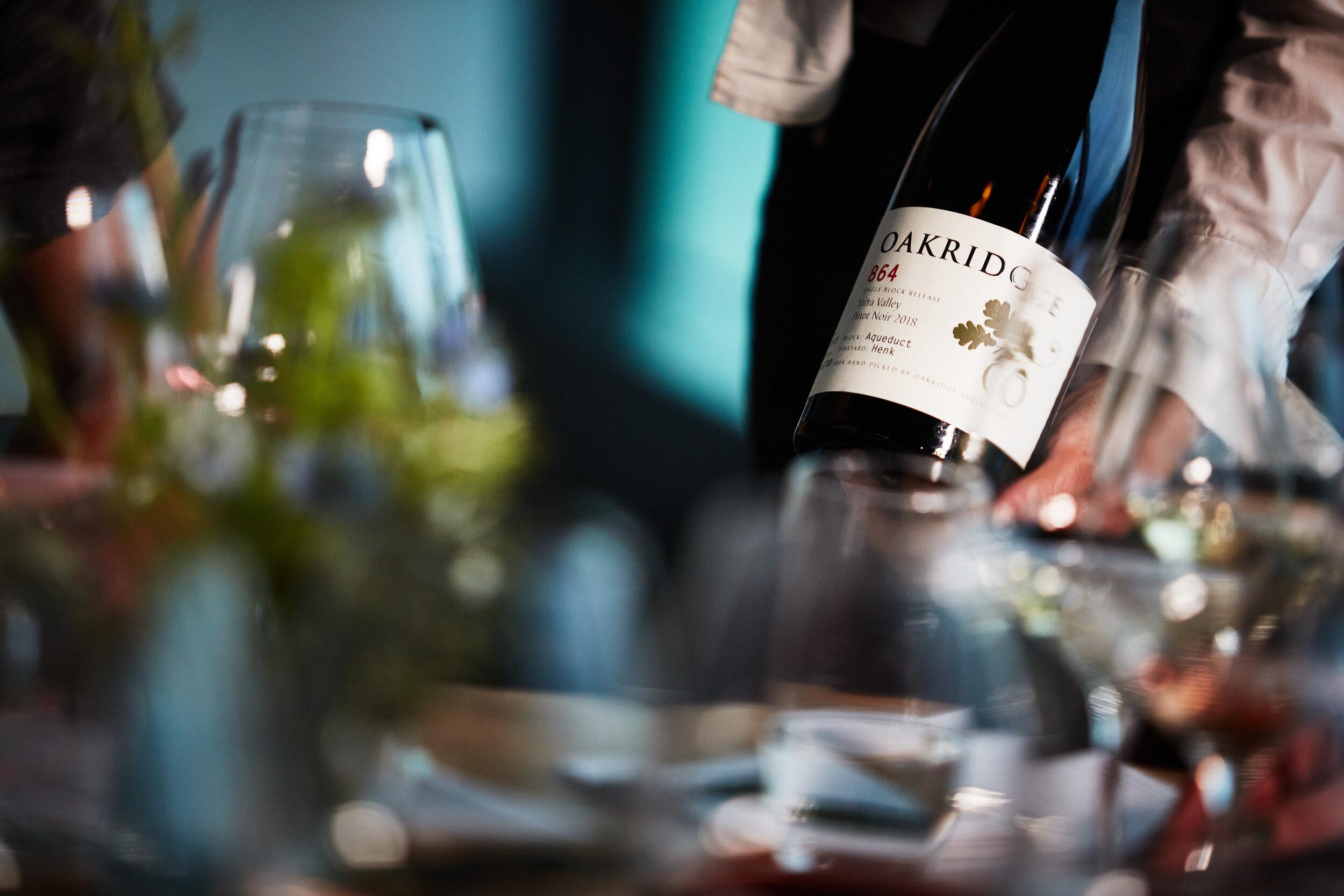 Dedes Wine Dinner Series   Oakridge